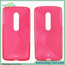 Cheap Price Factory Directly Sell S Line TPU Cover Case for Moto X Play