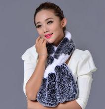 2015 2012 fashion fake fur scarf knitted cashmere shawl