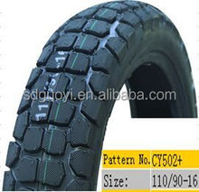 high quality motorcycle tire 110/90-16