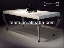 Fashionable Modern marble dining table glass dining table modern house design home goods dining chair