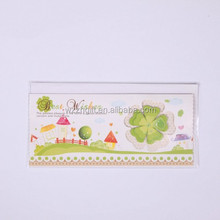 3D best wish card with layers/ 3D printing cards wholesale