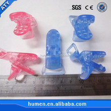 Clear color plastic alligator clip