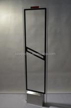 58khz Black Antenna AM Systems , Retail Stores Anti-theft Door System