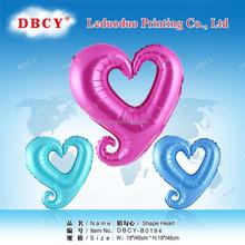 cheap heart shape balloon decoration from balloon supplier