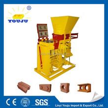Solid bricks making machine manufacturer Eco BRB double brick interlocking