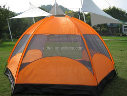 OEM new style 5-8 person Family Camping Tent Super Large Tent waterproof camping tube tent UD16036
