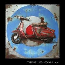 Motobike Iron Wall Art , Decorative Iron Wall Art, Iron Wall Art Decoration