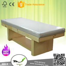 High quality Thai massage table, massage physical therapy bed,066-3#,100% Oak ,