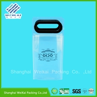 Hot selling pvc ice bag for wine pvc bag pvc cosmetic bag with high quality WK1259