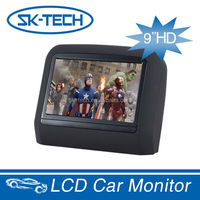 Head Rest Pillow TFT LCD 9 inch touch screen Back Seat tv For Car Monitor Android