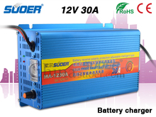 Suoer Factory Price 12V 30A Smart Fast Universal Car Battery Charger with ROHS