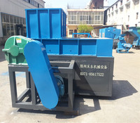 plastic / wood/ tire /metal /shredder single shaft shredder machine