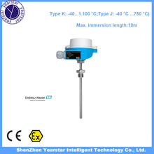 Endress Hauser/Temperature controller digital temperature sensor TC10/Type K Type J temperature sensors gauge