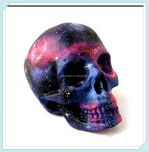 Ceramic Space Skull Head