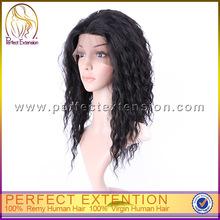 100% Human Hair Kinky Glueless Futura 5'' Lacefront Wigs