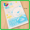 2016 special design convenient to use for students made in China new products self adhesive transparent book cover