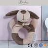 Baby toy plush puppy toy baby wrist rattles