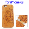 2015 New Products Various Designs Bamboo Wood Case Cover for iPhone 6s