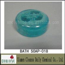 Belle salle de bain de savon avec Loofah pour océan parfum