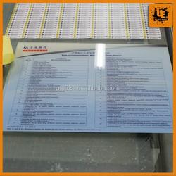 digital printing acrylic board printing , acrylic board sign