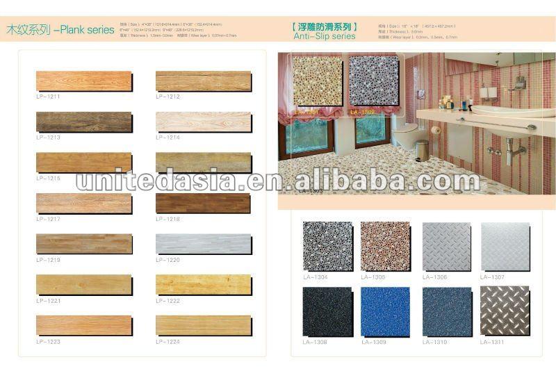 "Pvc Flooring 6""*36"" - Buy Pvc Flooring Wooden Look,Pvc Wood Flooring ..."