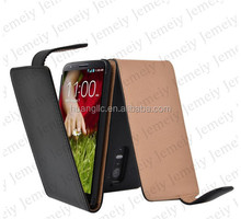 For LG G2 Executive Premium PU Leather Flip Case Cover With Various Color