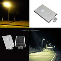 High power new aluminum waterproof integrated solar street light all in one solar street lights