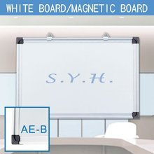 2-IN-FIX flexible corners for whiteboard with aluminum marker tray
