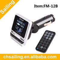 Bluetooth Newest Car MP3 Player Wireless FM Transmitter Modulator with USB SD MMC LCD With Remote