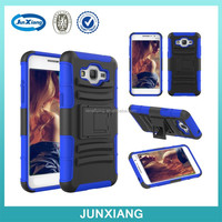 New Arrival Rugged Hard Robot Phone cases 2 in 1 Back Cover Stand Holder kickstand case for Samsung