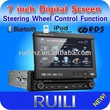 Compatible with DVD/ VCD/ CD/ MP3/ MP4/ WMA/ JPG/ MPG/AVI/DIVX