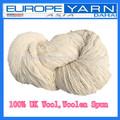 Hilados de lana baratos, 380tex/1 hilado de lana del reino unido hilado de lana