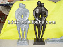 hand carved abstract art marble statue