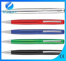 2015 hot sale metal pen ,slim metal point for gift promoton