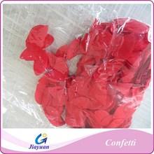 Red Rose Petals shape paper confettis, wedding red paper confettis
