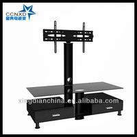 Wholesale LED Glass TV Table LCD TV Furniture
