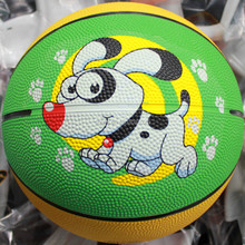Top level hot-sale training ball basketball rubber