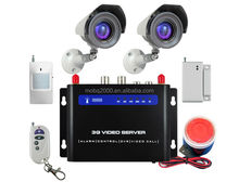 GSM GPRS 3G WCDMA camera MMS alarm system CWT5030, security camera