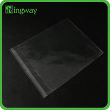 strong eco-friendly and recycled heavy duty small cheap packing for clothes clear plastic bags with handles