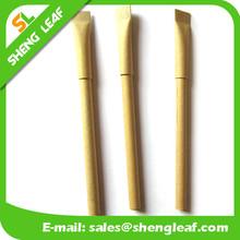 Paper eco-friendly paper brush pens