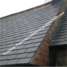 Natural color roofing slate tile