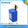 High power 1S4P rechargeable 18650 3.7v 8000mah li ion battery pack for power tools/LED lights/solar battery