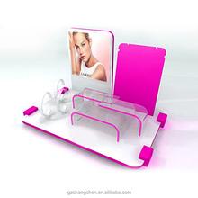 New Fashion High Quality acrylic cosmetic display counter