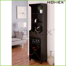 Good quality free standing bar/wine cabinet/premium table wine rack/ HOMEX