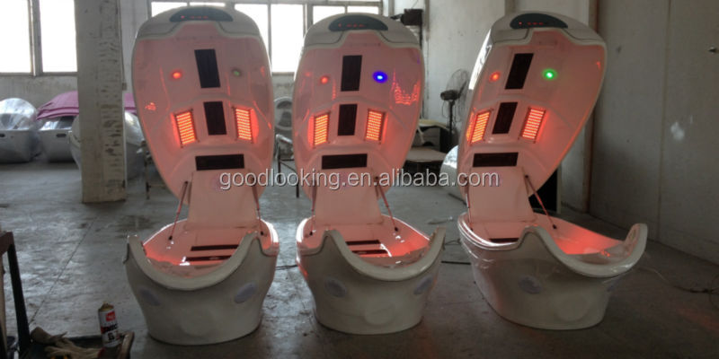 Guangzhou infrared ozone cabinet/Infrared Dry Steam Sauna Cabin/slimming spa capsule/ Salon Infrared Light Spa Capsule