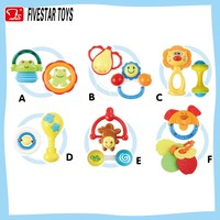Wholesale plastic baby rattles,baby rattle toy