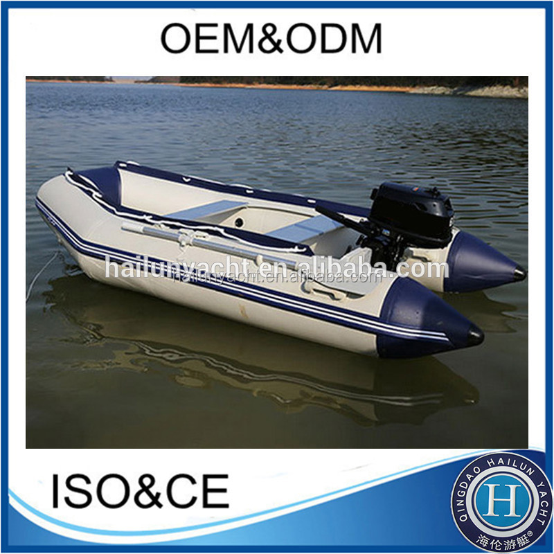 12ft flat bottom aluminum fishing boat china with outboard for Flat bottom fishing boats