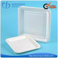 Promotional business class dinnerware plastic butter dish for hotel