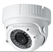 Metal casing home use 960p indoor dome vandalproof 1.3MP night vision infrared plug and play network ip camera