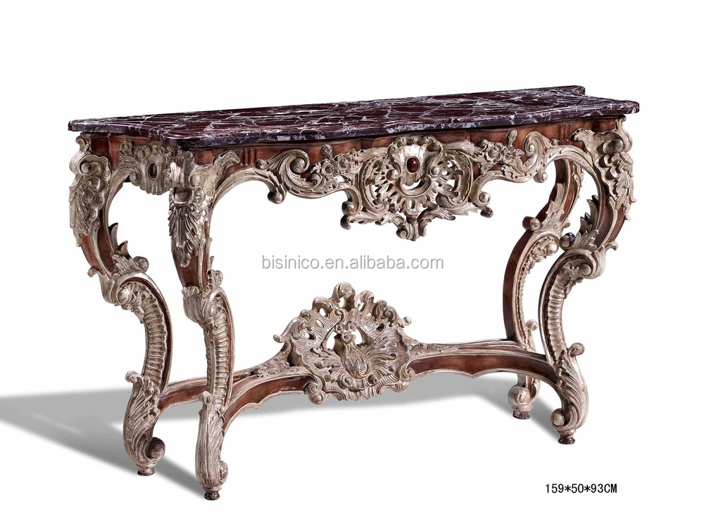 Antique Luxury Console Table Console Hall Foyer Table